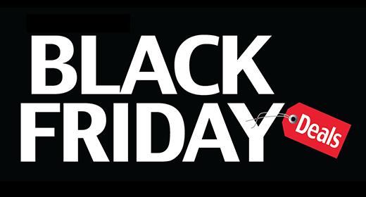 BlackFriday Sales off Brochure Menu Templates