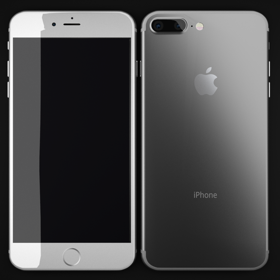 Iphone 7 Plus In Silver By Sriniwas 3docean