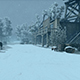 Wild West City In Winter - VideoHive Item for Sale