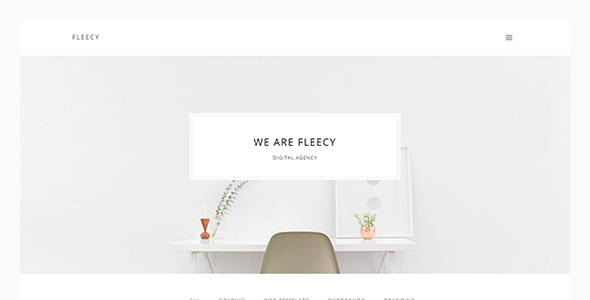 Fleecy – Clean and Minimal Portfolio HTML Theme