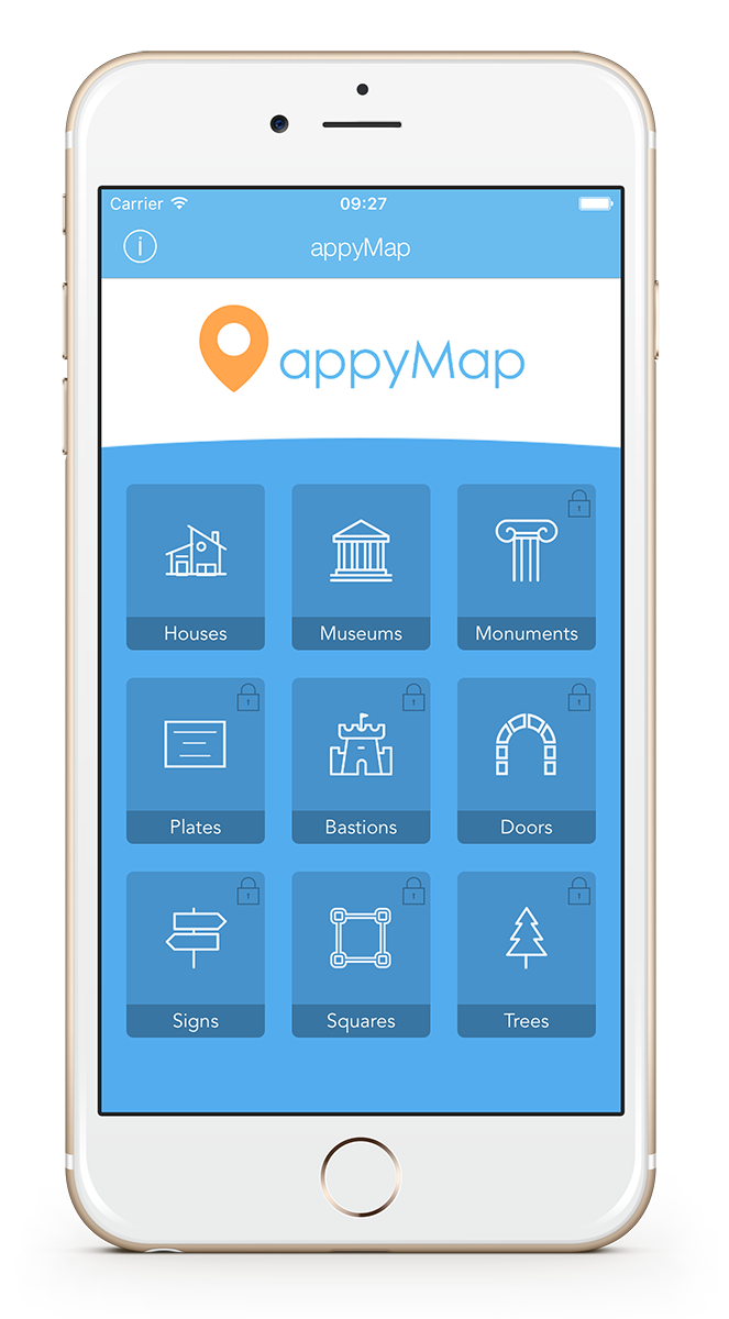 appyMap - iOS 11 Points of Interest Map - Location Based App - Swift ...