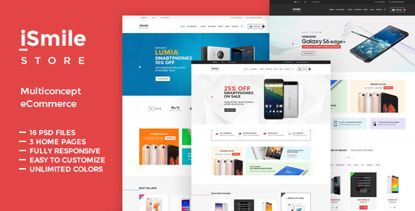TV iSmile – Responsive Fashion Magento Theme
