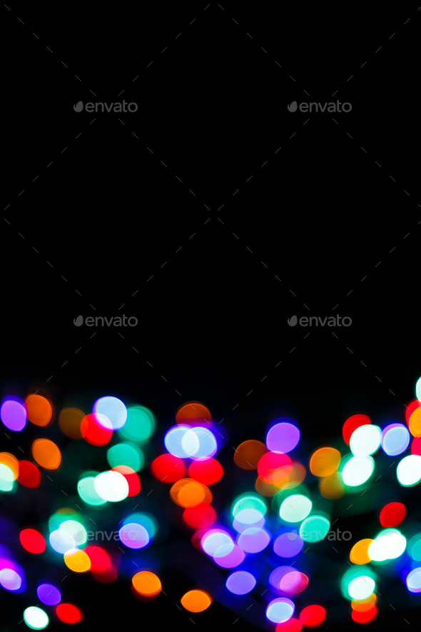 Color light blurred bokeh background, unfocused. - Stock Photo - Images