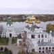 Aerial Shot Ipatiev Monastery in Kostroma Russia - VideoHive Item for Sale