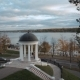 Ostrovsky's Pavilion in Kostroma, Russia, Aerial Shot - VideoHive Item for Sale