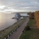 Promenade Along the Volga River in Kostroma Autumn - VideoHive Item for Sale