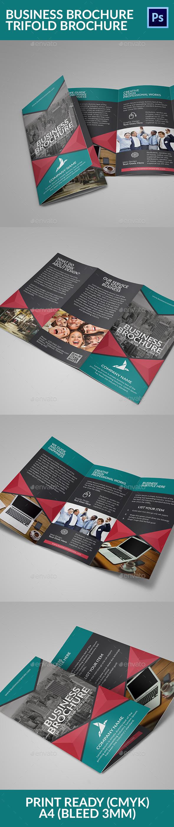Business Brochure Trifold Brochure - Corporate Brochures