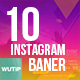 10 Instagram Post Banners-DJ Event - GraphicRiver Item for Sale