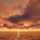 Cinematic Beautiful Sunset - Ocean - VideoHive Item for Sale