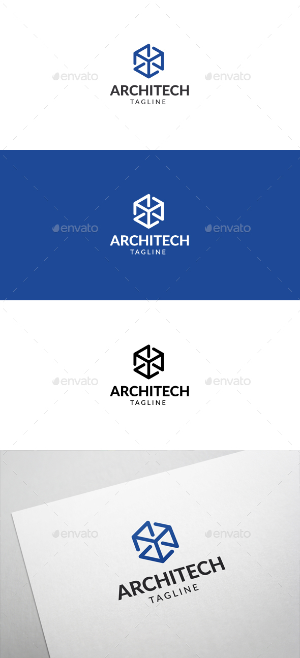 Architecture Logo V2 - Abstract Logo Templates