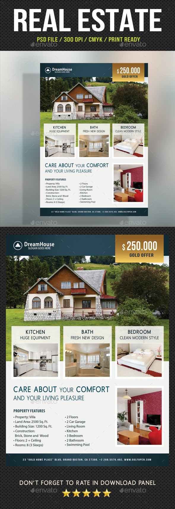 Real Estate Corporate Flyer 17