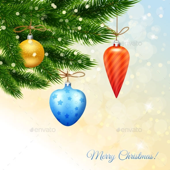 Merry Christmas Poster - Backgrounds Decorative