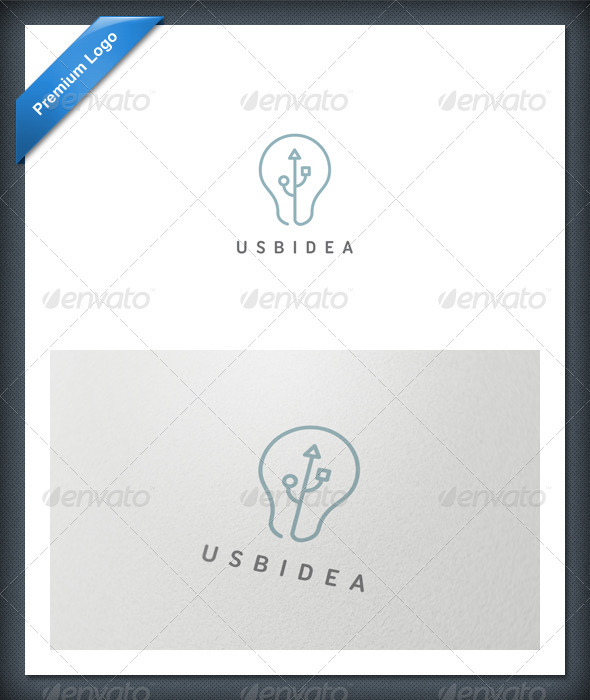 USB Idea Logo Template - Symbols Logo Templates