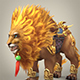 Fantasy Warrior Lion