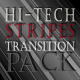 Hi-Tech Stripes Transition Pack - VideoHive Item for Sale
