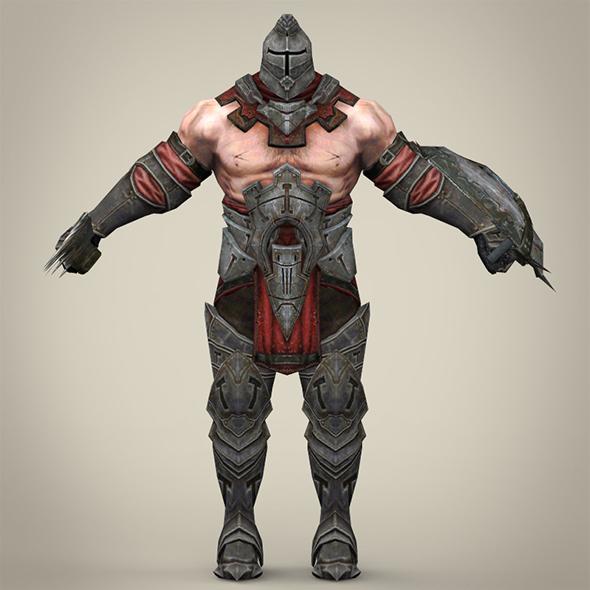 Fantasy Warrior - 3DOcean Item for Sale