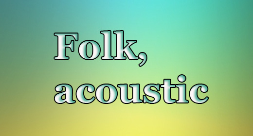 Folk, acoustic Music