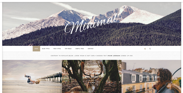 Inside - Clean And Minimal WordPress Blog Theme