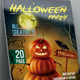 Hallowen Party Magazine Template 20 Page - GraphicRiver Item for Sale