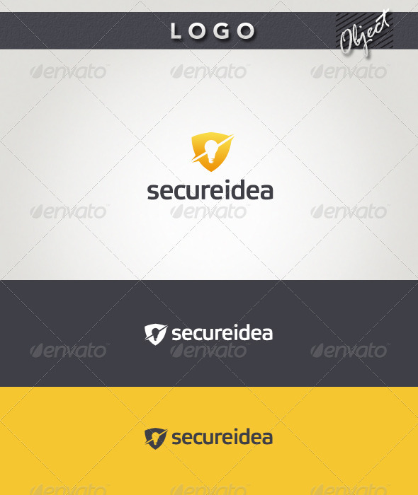 Secure Idea Logo - Objects Logo Templates