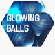 Glowing Balls | Abstract Logo Intro - VideoHive Item for Sale