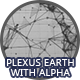 Earth - Black and White Plexus With Alpha - VideoHive Item for Sale
