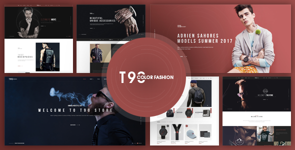 T90 - Fashion Responsive Magento Theme