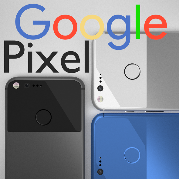 Google Pixel The Smartphone By Google - 3DOcean Item for Sale