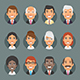 Characters Business People in Circle - GraphicRiver Item for Sale
