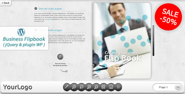 Business FlipBook WordPress plugin - CodeCanyon Item for Sale