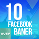 10 Facebook Post Banners - DJ Event - GraphicRiver Item for Sale