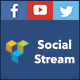 Visual Composer Social Stream