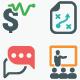 Business Icons - Color Version (Set 2)