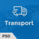 Trust Transport - Transportation and Logistics PSD Template - ThemeForest Item for Sale