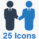 Business Icons - Blue Series (Set 1) - GraphicRiver Item for Sale