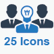 Business Icons - Blue Series (Set 3) - GraphicRiver Item for Sale