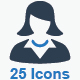 Business Icons - Blue Series (Set 4) - GraphicRiver Item for Sale