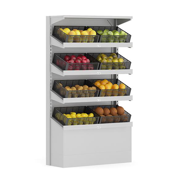 Market Shelf - Fruits - 3DOcean Item for Sale