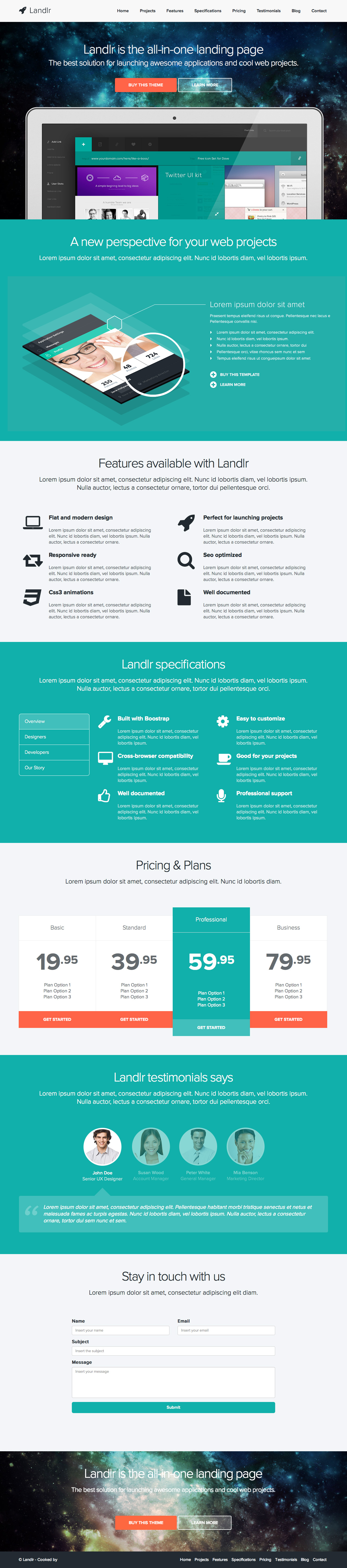 Landlr – The All-in-One Landing Page - WordPress by favethemes ...