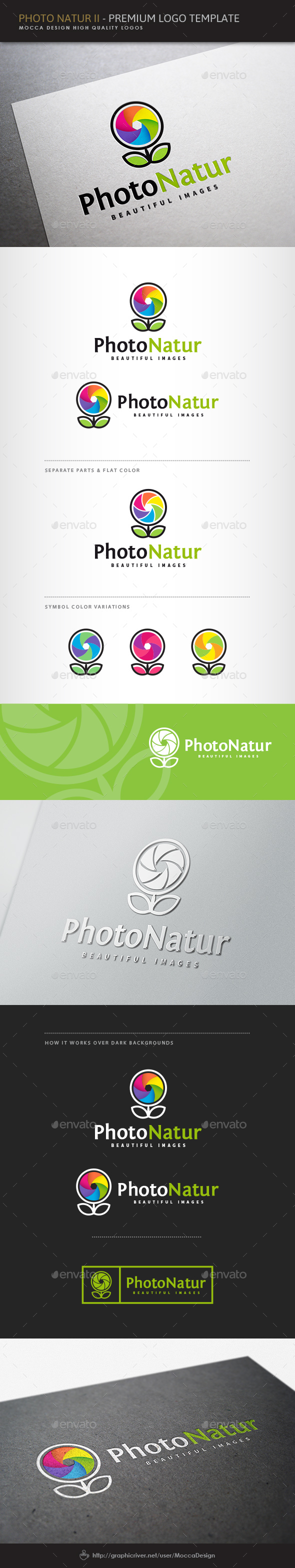 Photo Natur II Logo - Symbols Logo Templates