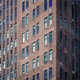 Clouds Reflect In Apartment Building Timelapse - VideoHive Item for Sale