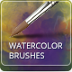 32 Watercolor Artistic Brushes