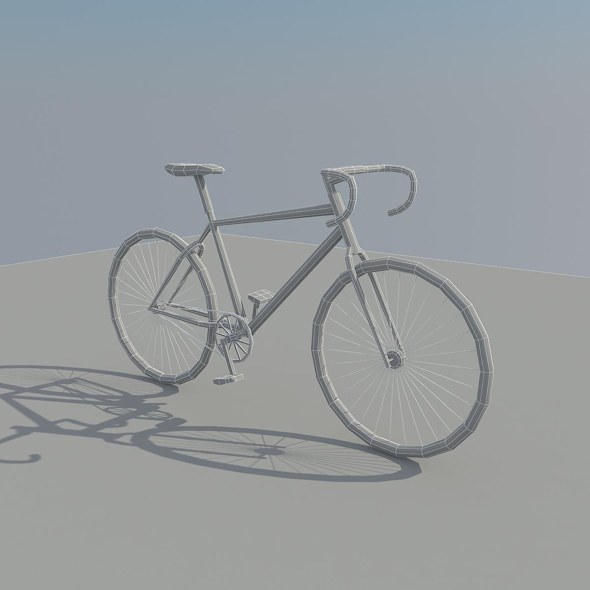 Low Poly Bike By 3dsmartphone 3docean