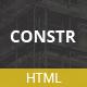 Constr - Multipurpose HTML5 Template - ThemeForest Item for Sale