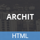 Archit - Responsive HTML5 Template - ThemeForest Item for Sale