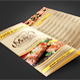 Trifold Menu Template Vol.9 - GraphicRiver Item for Sale