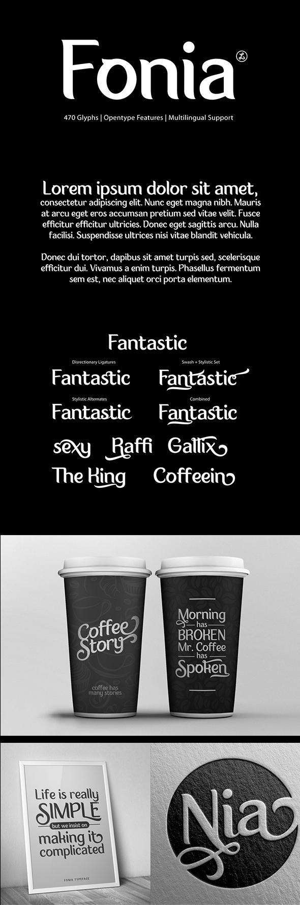 Fonia - Miscellaneous Sans-Serif