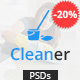 Cleaner - PSD template for Cleaning Services - ThemeForest Item for Sale