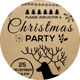 PaperKraft Christmas Party Card Template