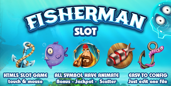 FisherMan Slot - CodeCanyon Item for Sale
